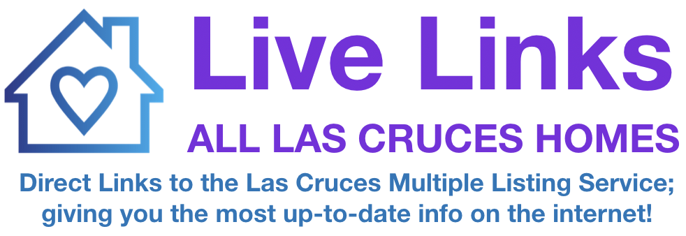 Live links to the Las Cruces Multiple Listing Service!